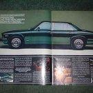 1980 JAGUAR SEDAN CAR AD GREEN