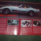 1980 1981 CHEVY CORVETTE TURBO CAR AD