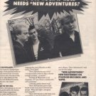 1980 NEW ADVENTURES  POSTER TYPE AD