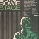 DAVID BOWIE STAGE LIVE PROMO AD 1979