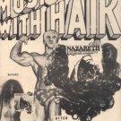 NAZARETH HAIR OF THE DOG POSTER TYPE PROMO AD RARE 1975