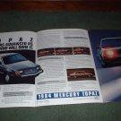 1984 MERCURY TOPAZ CAR AD 4-PAGE