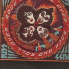 * 1976 KISS ROCK AND ROLL OVER POSTER TYPE AD