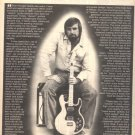 1980 HARTLEY PEAVEY GUITAR AMPLIFIER POSTER TYPE AD