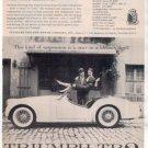1957 TRIUMPH TR3 TR 3 VINTAGE CAR AD