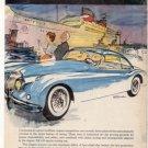 1957 JAGUAR XK 150 XK150 VINTAGE CAR AD