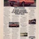 1975 CHEVY CAMARO VINTAGE CAR AD