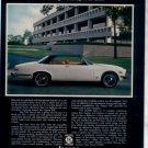 1975 JAGUAR XJC VINTAGE CAR AD