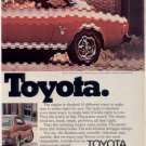 1975 1976 TOYOTA CELICA GT CAR AD 2-PAGE SHOOK UP NICE