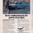 1975 1976 BUICK OPEL VINTAGE CAR AD