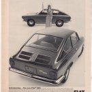 1966 1967 FIAT 850 VINTAGE CAR AD
