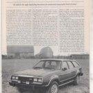 1980 AMC EAGLE ROAD TEST AD 6-PAGE