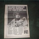 1973 BILL QUATEMAN POSTER TYPE AD