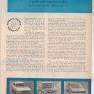 1967 1968 MUSTANG BARRACUDA CAMARO ROAD TEST AD