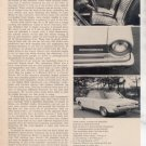 1964 1965 RAMBLER AMERICAN VINTAGE ROAD TEST AD 3-PAGE