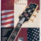 * 1993 THE HERITAGE OF KALAMAZOO GUITAR AD