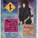 * 1993 JIMMY PAGE COVERDALE ZEPPELIN ERNIE BALL AD