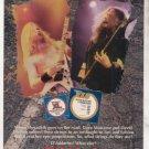 * 1993 MEGADETH DAVE MUSTAINE DAVID ELLETSON AD