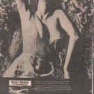 * 1974 ROXY MUSIC STRANDED POSTER TYPE PROMO AD