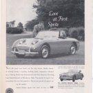 1960 AUSTIN HEALEY 3000 VINTAGE CAR AD