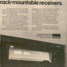 1979 SANSUI TA-500 TA500 TA 500 RECEIVER POSTER TYPE AD
