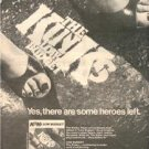 1979 THE KINKS LOW BUDGET POSTER TYPE TOUR AD