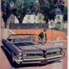 1965 1966 PONTIAC GRAND PRIX VINTAGE CAR AD