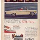1965 RAMBLER CLASSIC VINTAGE CAR AD
