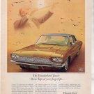 1966 FORD THUNDERBIRD TOWN LANDAU VINTAGE CAR AD