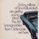 * 1968 OLDSMOBILE DELTA 88 CUSTOM COUPE PRINT AD
