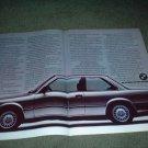 1983 1984 BMW 318i 318 i car ad