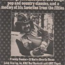 * 1976 FREDDY FENDER POSTER TYPE AD