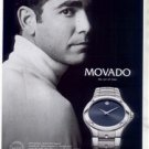 PETE SAMPRAS MOVADO WATCH AD