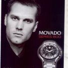 TOM BRADY MOVADO WATCH AD