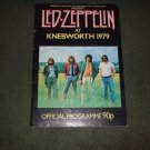 LED ZEPPELIN OFFICIAL TOUR PROGRAM KNEBWORTH 1979