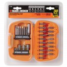 Black & Decker 71-939 Drilling and Screwdriving Set, 24-Piece