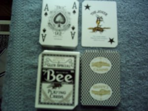Casino Playing Cards Deck Blue Bordertown Seneca, Missouri