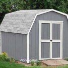 12' x 20' Barn Garden Outdoor Building Shed Project Plans #W21220