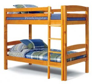 twin bunk bed plans