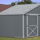 6&#39; x 8&#39; Lean To Shed Plans, How to Build a Storage Shed #E0608