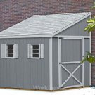 6' x 14' Lean To Roof Design Shed  Blueprints / Project Plans #E0614