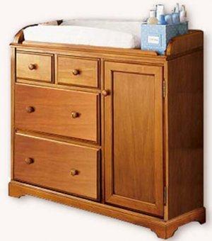 Nursery Baby Changing Dresser  Woodworking Plans, Design# CHDR1