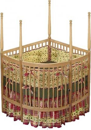 Captivating Nursery Baby Custom Corner Crib Woodworking Plans, Design #CRCRB