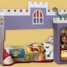 Children&#39;s Castle Loft/bunk Bed Woodworking Plans, Design  #1CSTL