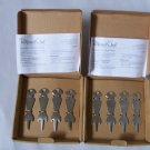 Pampered Chef Stainless Serving Picks 2 Sets New in Box