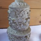 Vintage Shabby Cherub Angel Chic Lamp Base Restore Part