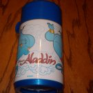 "1994 DISNEY""S ALLADIN - THE MOVIE - GENIE THERMOS (ROBIN WILLIAMS) BY.....ALLADIN ...LOL"