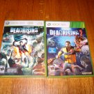 XBOX 360 -- DEAD RISING AND DEAD RISING 2 ( BOTH GAMES) COMPLETE