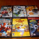 PLAYSTATION 2 (10 GAMES) GROUP LOT -- EXCELLENT CONDITION