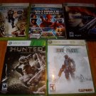 XBOX 360 GAME LOT (5 GAMES) EXCELLENT